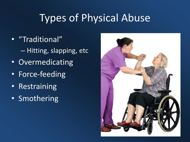 Types of Physical Abuse