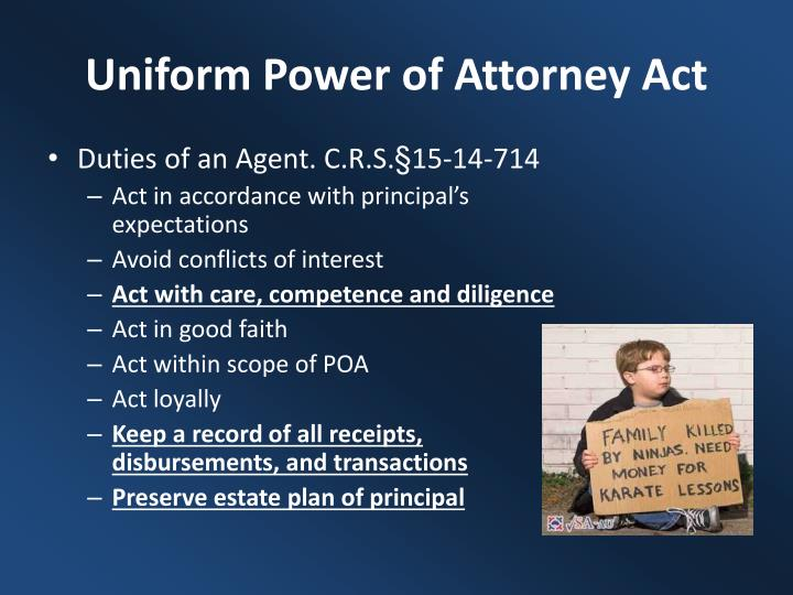 Uniform Power of Attorney Act