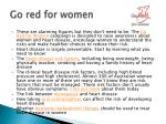 go red for women1