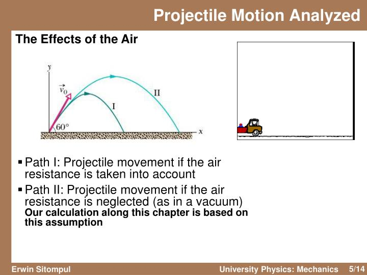 Projectile Motion Analyzed
