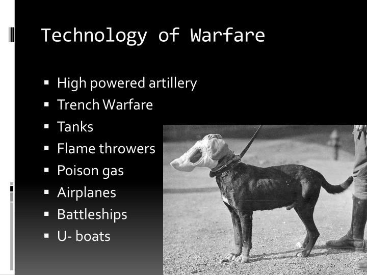 Technology of Warfare