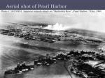 aerial shot of pearl harbor