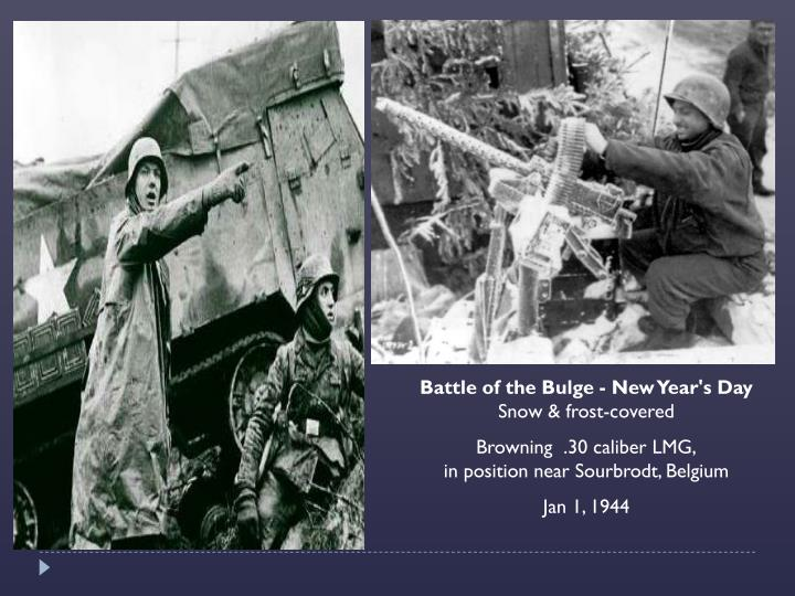 Battle of the Bulge - New Year's