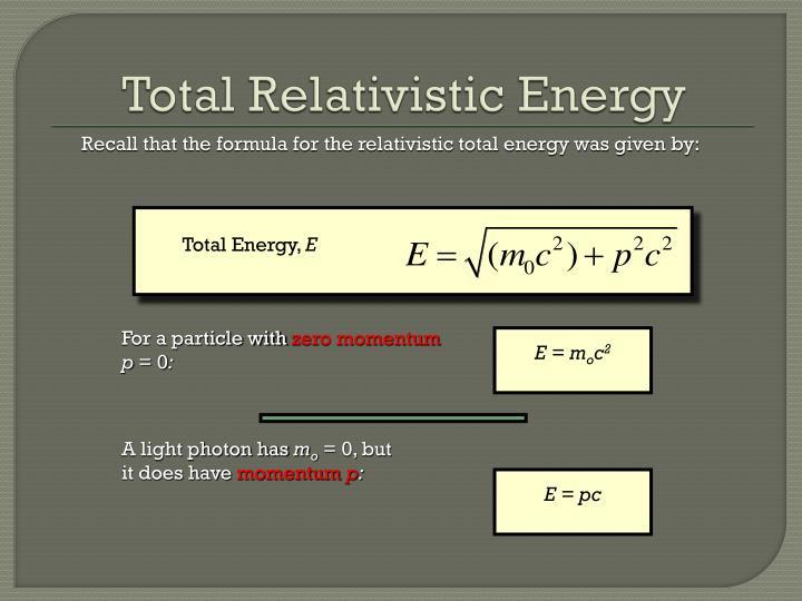 Total Energy,