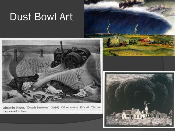 Dust Bowl Art