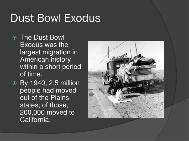 Dust Bowl Exodus