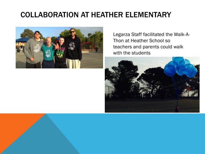 Collaboration at Heather Elementary