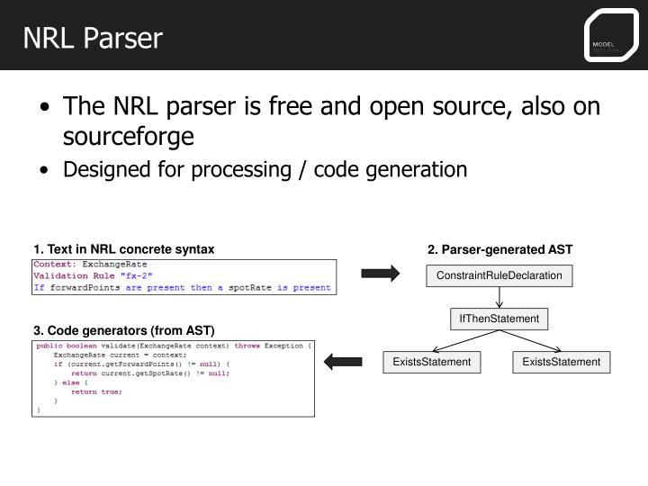 NRL Parser