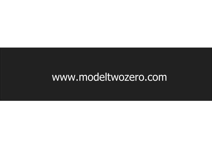 www.modeltwozero.com