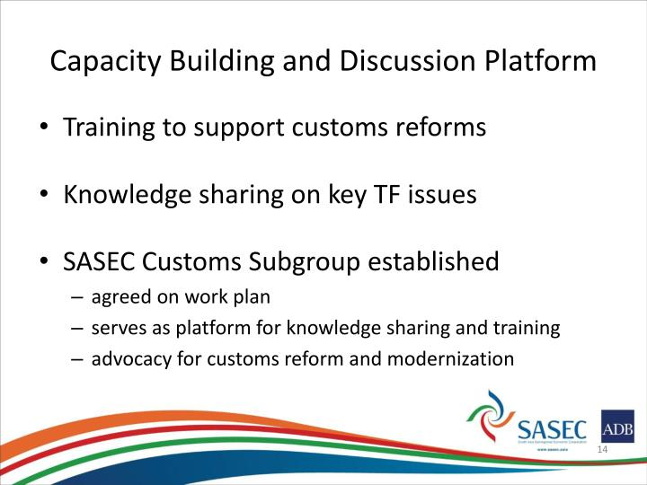 Capacity Building and Discussion Platform