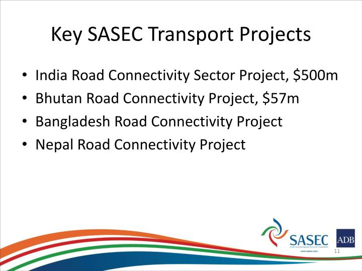 Key SASEC Transport Projects