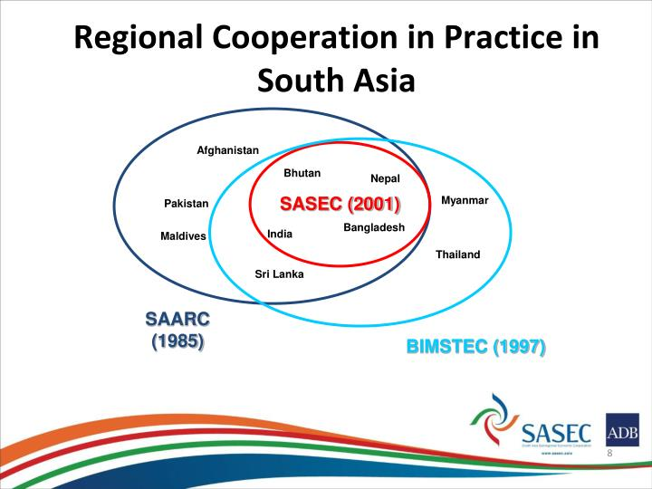 Regional Cooperation in Practice in South Asia