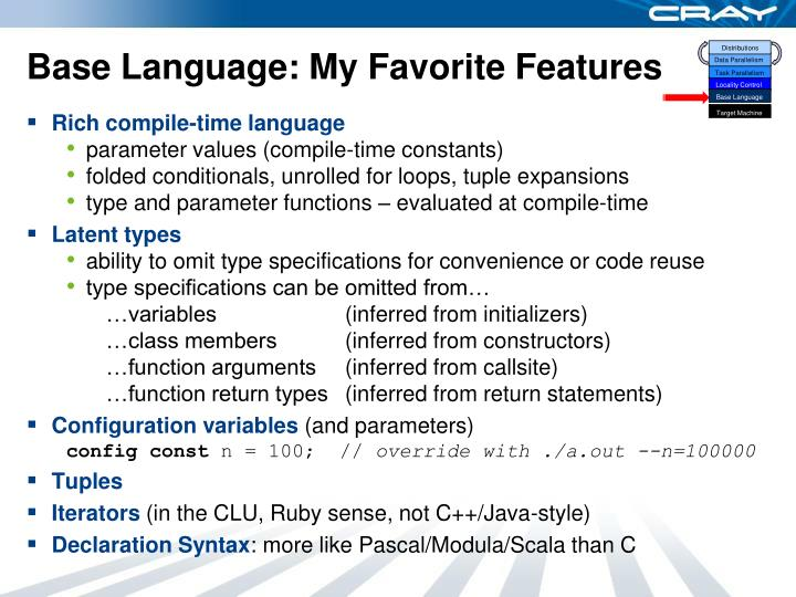 Base Language: My Favorite Features