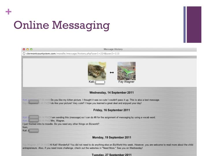 Online Messaging