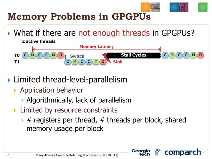 Memory Problems in GPGPUs