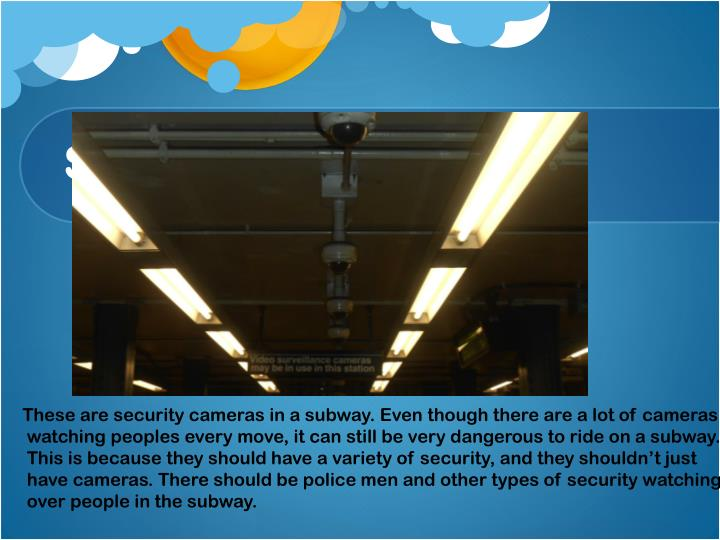 Security in the Subway