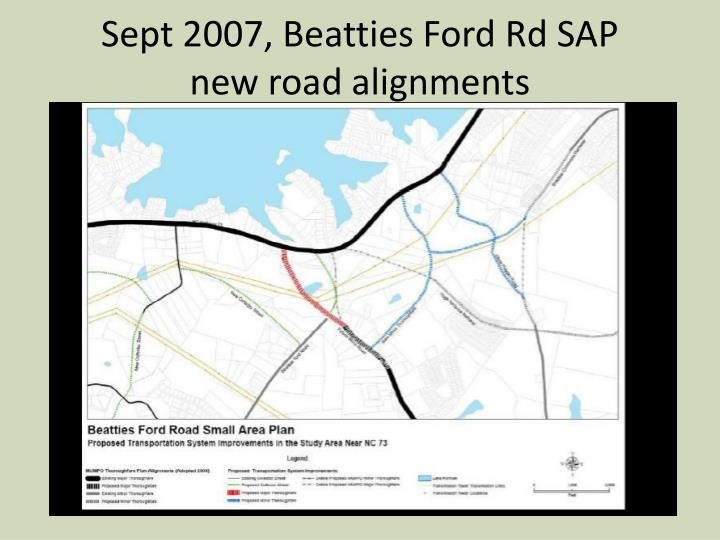 Sept 2007, Beatties Ford Rd SAP