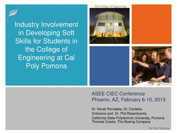 Asee ciec conference phoenix az february 6 10 2013