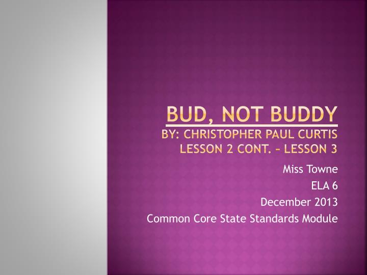 Bud  Not Buddy Animated Summary   YouTube If you were Bud  would you try to find your father  Why or why not