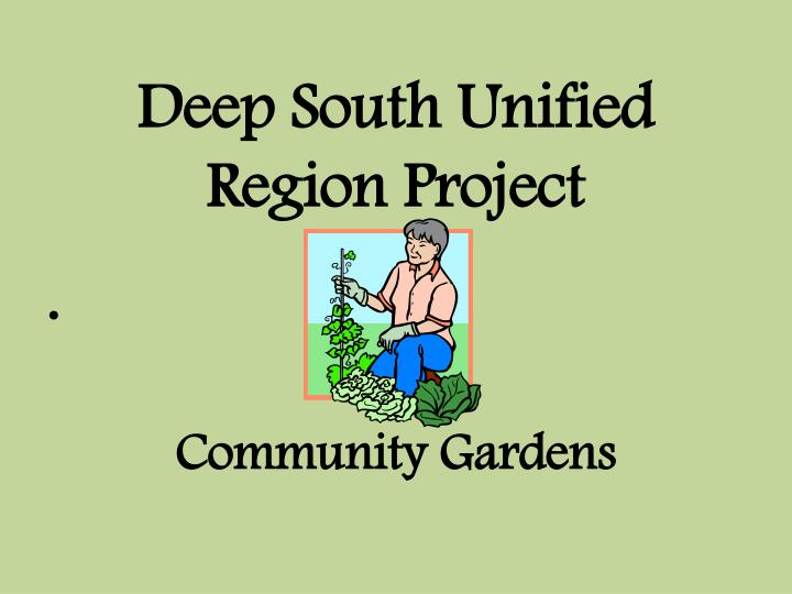 Deep South Unified Region Project