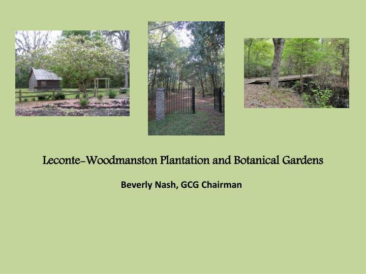 Leconte-Woodmanston