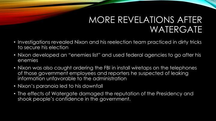 More Revelations