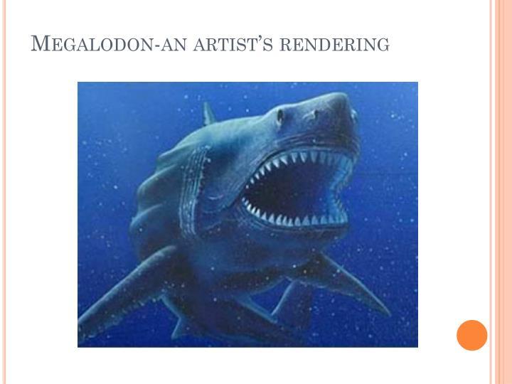 Megalodon-an artist's rendering