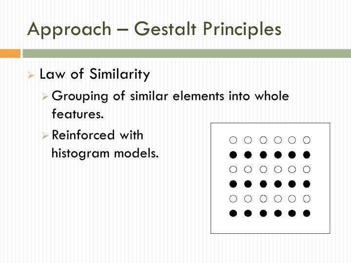 Approach – Gestalt Principles