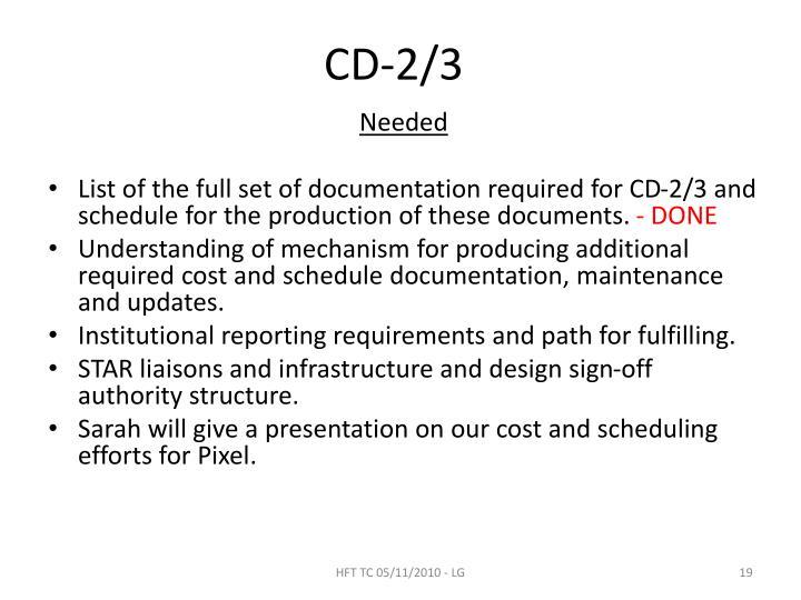 CD-2/3