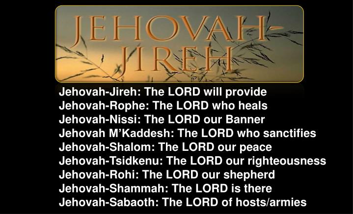 Jehovah-