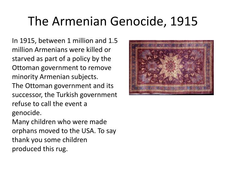 The Armenian Genocide, 1915