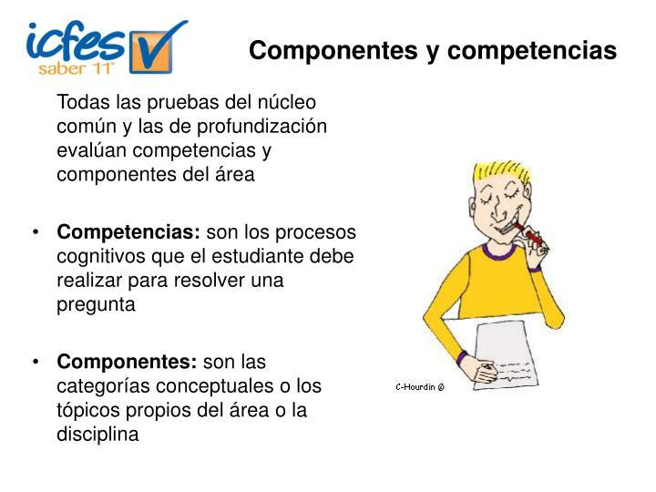Componentes y competencias