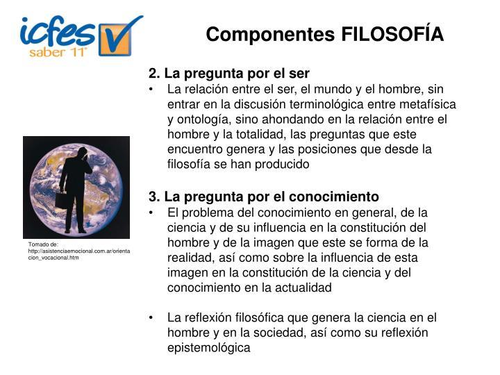 Componentes FILOSOFÍA