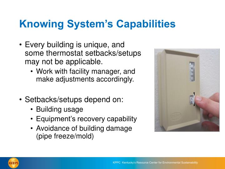 Knowing System's Capabilities