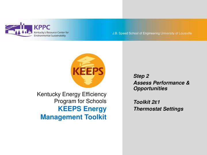 KEEPS Energy Management Toolkit