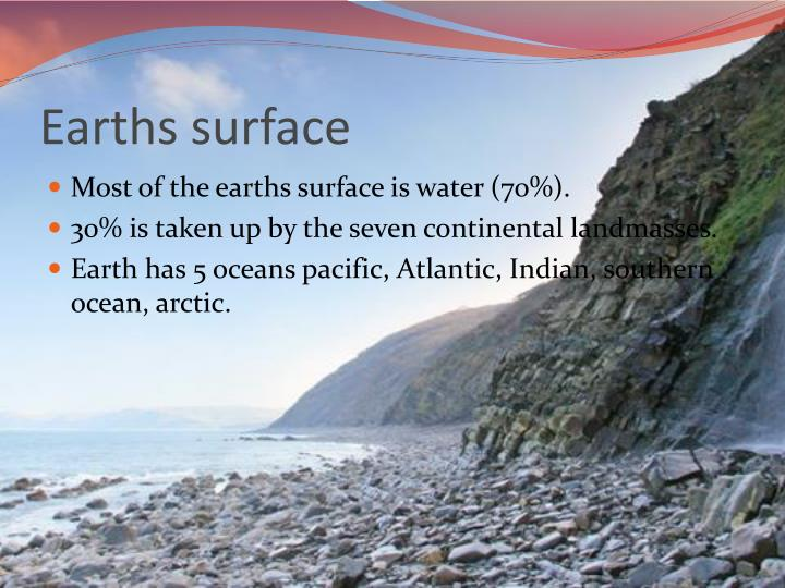 Earths surface