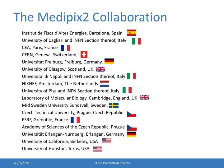 The Medipix2 Collaboration
