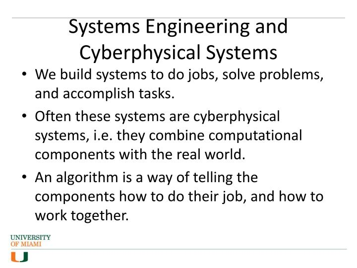 Systems Engineering and