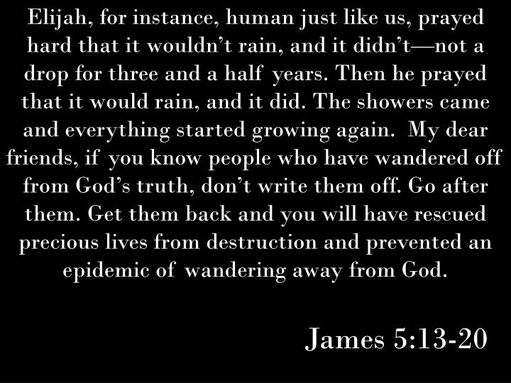 James 5:13-20
