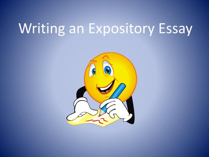 Dictionary expository essay