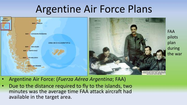 Argentine Air Force Plans