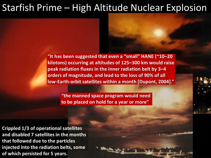 Starfish Prime – High Altitude Nuclear Explosion