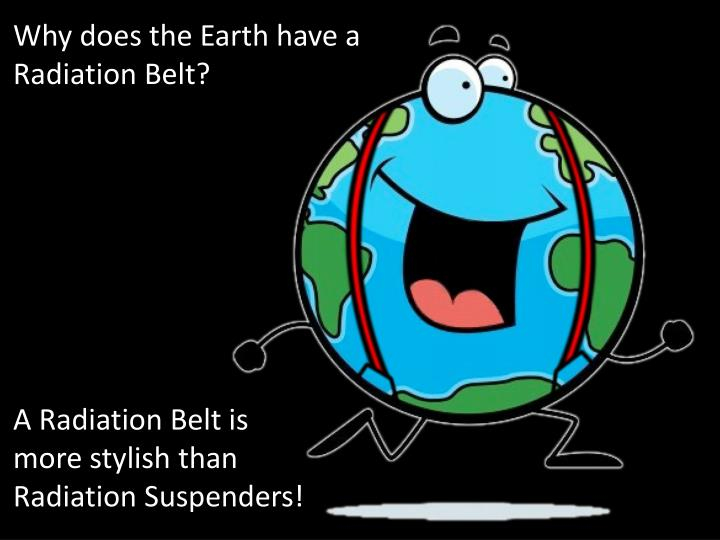 Why does the Earth have a Radiation Belt?