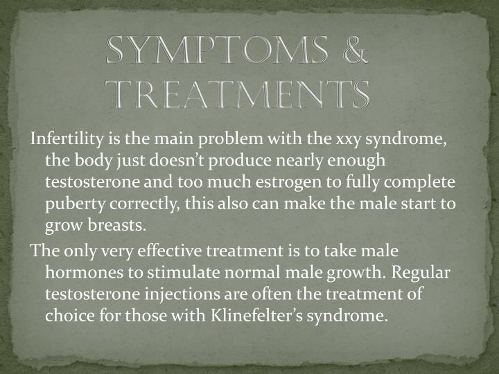 Symptoms & Treatments