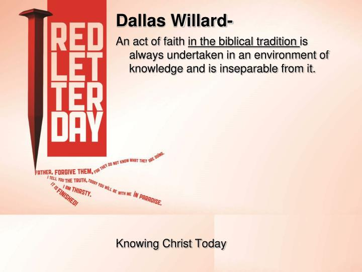 Dallas Willard-