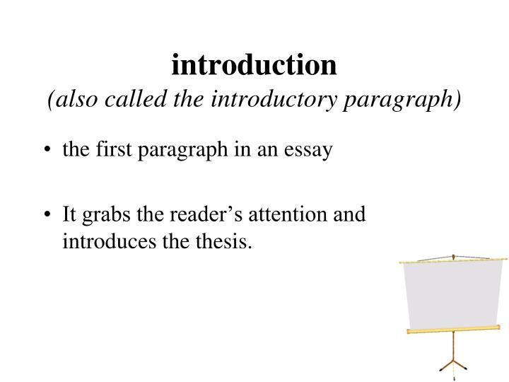 introductory paragraph essay powerpoint The bing, the bang, and the bongo is a method for organizing your thoughts  when you write an essay introduction (the bing, the bang, the bongo)  paragraph.