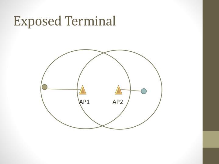 Exposed Terminal