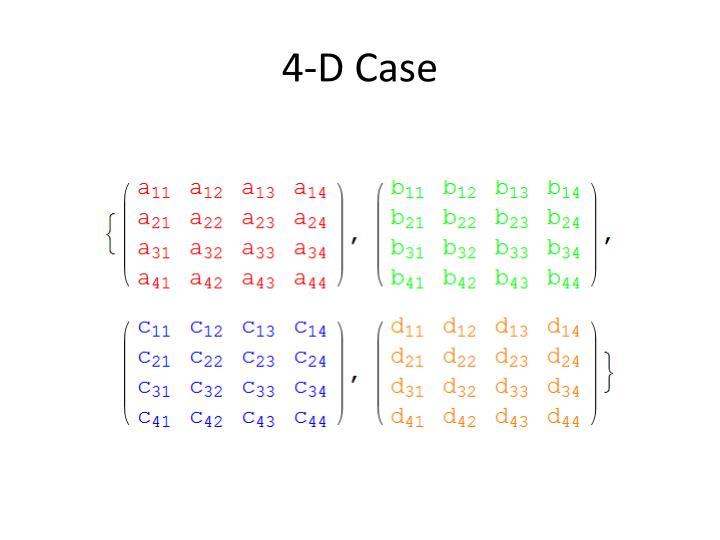 4-D Case