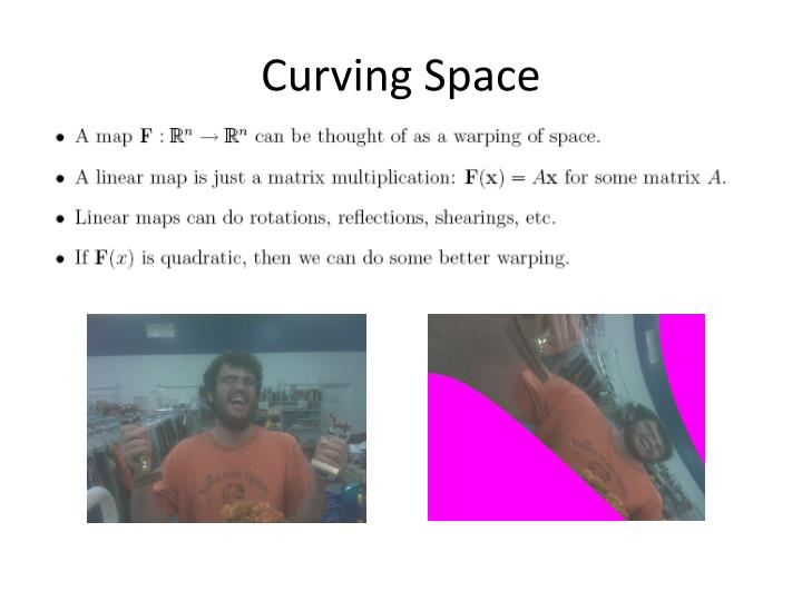 Curving Space