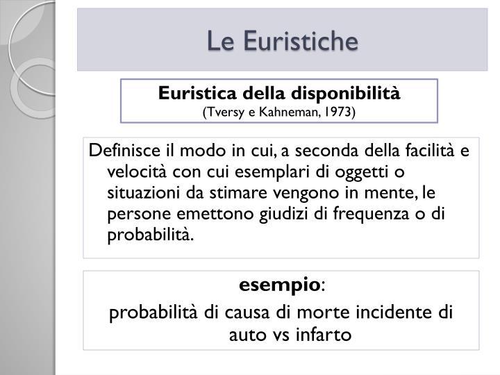 Le Euristiche